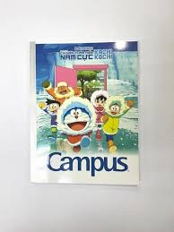 Vở Camplus Doraemon Vacation  4 ô ly